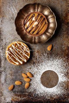 Chocolate and Caramel Tart.