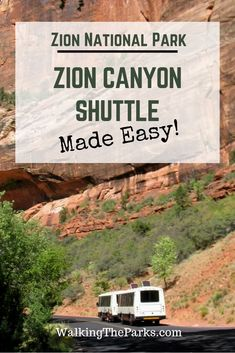 Zion Canyon Shuttle Makes it Easy to Enjoy Zion National Park - Walking The Parks March through November, the Zion Canyon Shuttle is the only way into Zion Canyon. Let us show how super easy it is to use the Zion shuttle to explore! American National Parks, National Parks Usa, Utah Parks, Utah Vacation, Vacation Rentals, Vacation Ideas, Zion Canyon, Canyon Park, Trip To Grand Canyon