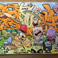 Gimpventure time... That was fun...may do some more fannying. #cheo #sketch #blackbook #adventuretime