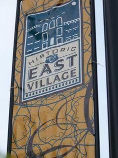 "East Village: ""Des Moines' cutting edge, hip neighborhood"""
