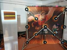 Branded Batak hire with full backdrop. Batak is a popular activity for #CorporateEvents, #BrandActivations, #TradeStands & #Exhibitions.    Batak hire has different game options available ranging from 30 second games to accumulator games.   #Batak #EventIdeas #BrandedGames #InteractiveGames #CompetitiveGames