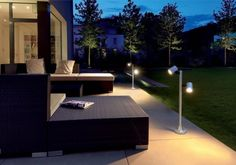 Backyard Weed Barrier With Plastic Netting Also Outdoor Flush Mount And Outdoor Decorative Lighting Besides Exterior Hanging Lantern  Deck Light  Patio Slab  Curve Rockwall Earth  Solar Dock Light  Outdoor Wall Lighting  Green Plant     Organization Garden Lighting Suburban Area with Dazzling Impact