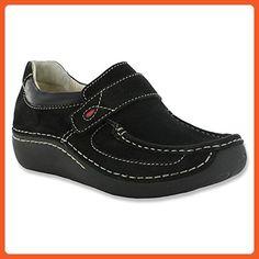 cddad430061 Wolky Women s Belinda Black Nubuck 41 European - Loafers and slip ons for  women ( Amazon Partner-Link)