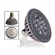 LED vækstlyspære, E27 -7W