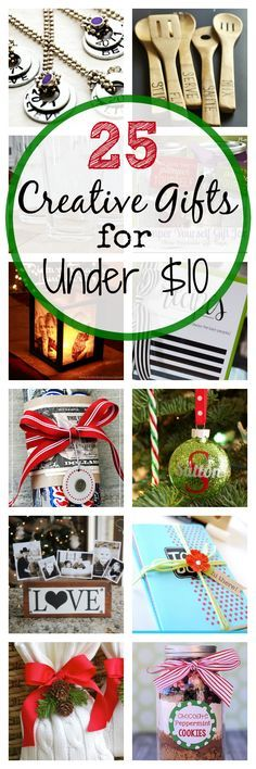 Pin by amiyrah 4 hats and frugal on diy holiday gifts pinterest 25 creative gift ideas that cost less than 10 solutioingenieria Images