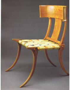 Klismos chair - T. H. Robsjohn-Gibbings