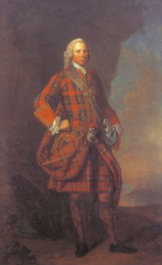 James Moray of Abercairney, c1735. painted by Jeremiah Davidson