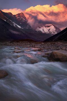 Lhotse, Nepal by Koveh Tavakkol