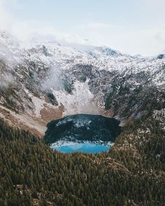 Unnamed Lake Golden Ears BC | Photography by @AlexStrohl  Tag #naturegeography and follow us to be featured! by nature.geography