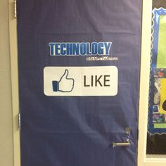 Best Classroom Door Decorations Images In - Technology Door Decorating Ideas Elementary Computer Lab, Computer Teacher, Computer Class, Computer Technology, Computer Science, Teaching Computers, School Computers, Teaching Technology, Educational Technology