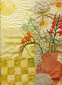 Sunshine Flowers by Julie Shackson, via Flickr