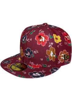 Kenzo Burgundy New Era Flower Cap