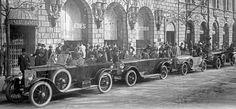 "1913 · Mercedes Benz Berlin: Zurück am Standort ""Unter den Linden"""