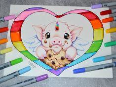 Pigasus loves Cookies! by Lighane