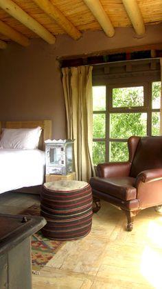 Jamshyd's Leather Chair in Likhir House