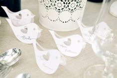 PLACE CARDS 3/rusB/w