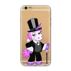 Cute Unicorn Rainbow Case for iphone 4 4S 5 5S SE 6 6S Soft TPU Puke Horse Fundas Cover Coque Capa Para celular