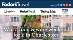 Win A Trip For 2 to Charleston - Michael W Travels...