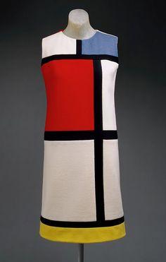 De Stijl dress