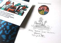 Болонская книжная ярмарка 2016 - Дневник человека, который рисует каракули