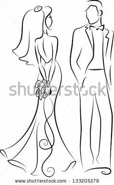 wedding couple silhouette beach - Google Search