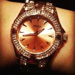 #amazing #boyfriend #sekonda #seksy #watch #gold #rose #diamonds #bling #treat #spoilt #weekendtreat #omg