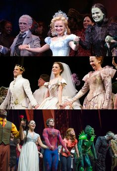 Wicked, Rodgers and Hammerstein's Cinderella, and The Amazing Spider-Man - Broadway curtain calls
