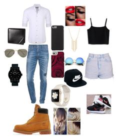 """Untitled #41"" by memelove-jsv on Polyvore featuring Stone Rose, Dsquared2, Timberland, SELECTED, Nixon, Casetify, Case-Mate, Chicwish, Topshop and NIKE"