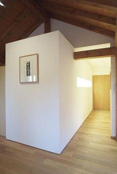 bathroom volume jura tangram design architecture   lausanne   fred hatt architecte   PORTFOLIO Lausanne, Villa, Architecture Design, Loft, House Design, Bathroom, Bed, Interior, Furniture