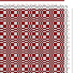 Hand Weaving Draft: Page 3, Figure 12, Donat, Franz Large Book of Textile Patterns, 2S, 2T - Handweaving.net Hand Weaving and Draft Archive