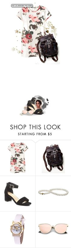"""How I long for the autumn The sun keeps burning deep Every stone in this city keeps reminding me..."" by huntxr ❤ liked on Polyvore featuring Monki, Free People and Roberto Coin"