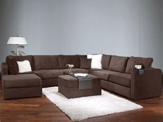 omg i just love these lovesac sectionals!! looks like a party couch haha. perfect basic to add theme and style around the couch. hope i get somethin like this in my apartment