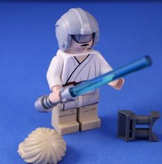 LEGO® STAR WARS™ 7965 LUKE SKYWALKER Minifigure With Practice Jedi Blast Shield! #LEGO