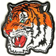 Tiger Patch Medium