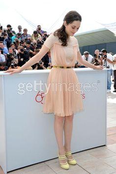 such a pretty dress // Marion Cotillard at Cannes 2012