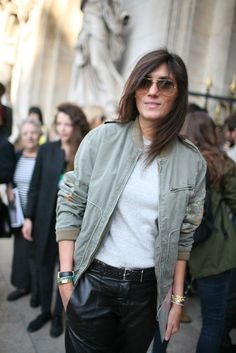 How to wear a bomber jacket - That's Not My Age