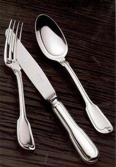 My silver... Christofle chinon