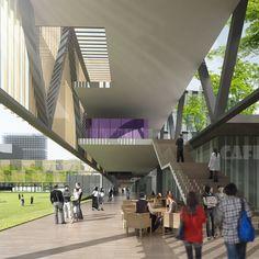 Chinese University of Hong Kong (Shenzhen Campus) Master Plan Winning Proposal,Courtesy of Rocco Design Architects