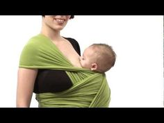 Advanced Babywearing: Breastfeeding in Kangaroo Hip Carry with Moby-style Stretch Wrap (4+ months)