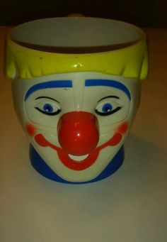 Ringling Brothers and Barnum and Bailey Circus Clown Mug Cup