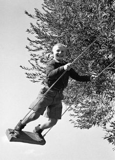 [Photo by D. Its A Wonderful Life, Vintage Photography, Children Photography, Old Photos, Kids Playing, Laughter, Greece, Literature, The Past