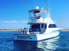 Jarrett Bay Starflite in North Carolina Tin Shed, Sport Fishing Boats, Charter Boat, Love At First Sight, Big Game, Sailboat, North Carolina, Coastal, Waves