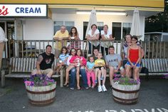 Here is a great photo of the Gray-Sheehan, Arcaro and Coupas families. We had a great time hosting them at Yarmouth Country Cabins last summer and we look forward to seeing all these smiling faces this summer!