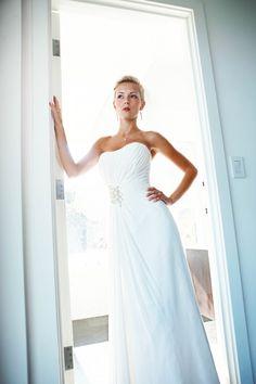 The bride is ready. Malibu Wedding Photography