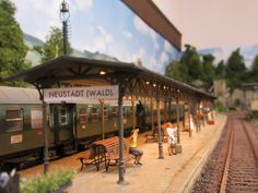on the  platform / Neustadt am Wald