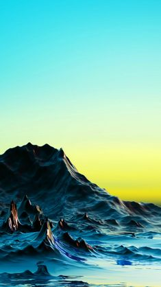 Rock Mountains Blue Sky View Landscape #iPhone #5s #wallpaper