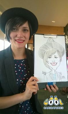 Another 5 minute wedding caricature by UK Caricaturist, Femi Adetunji. To book this Wedding Caricaturist contact via http://www.cool-caricatures.co.uk or https://www.facebook. com/coolcaricatures.studios  Thanks