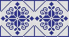 Myslíme si, že by sa vám mohli páčiť tieto piny - tonka. Cross Stitch Pattern Maker, Cross Stitch Borders, Cross Stitch Designs, Cross Stitching, Cross Stitch Patterns, Folk Embroidery, Cross Stitch Embroidery, Lace Patterns, Knitting Patterns