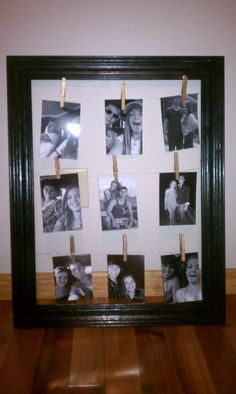 DIY Photo Frame - Gift for Best Friend or Family