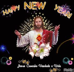 See the PicMix JESUS belonging to giurgead on PicMix. Happy New Year Animation, Happy New Year Gif, Happy New Year Pictures, Happy New Year Wallpaper, Cute Cat Wallpaper, Happy New Year Greetings, New Year Wishes, Happy Chinese New Year, Morning Quotes Images